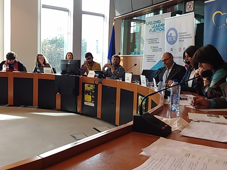 EBA was presented at the Lifelong Learning week in Brussels!