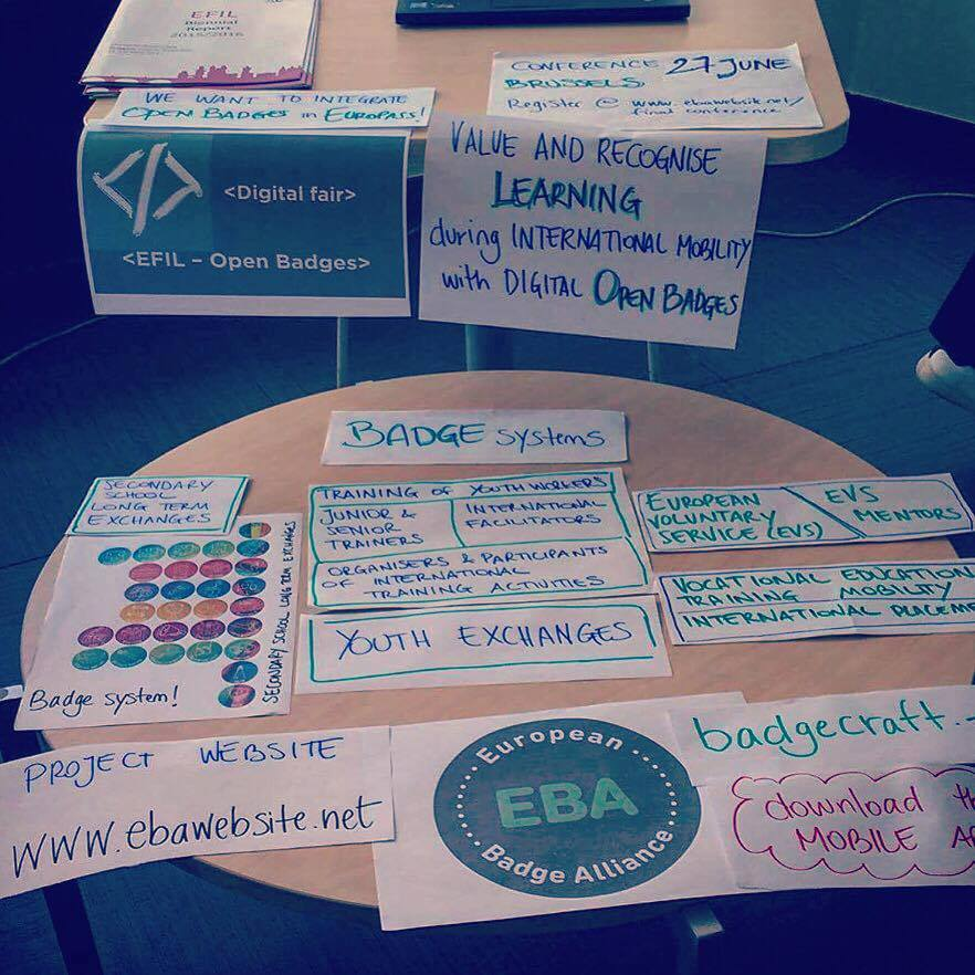 Open Badges presented at the Lifelong Learning Platform Conference